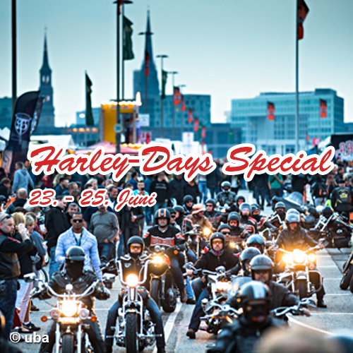 Harley Days 2018 mit Kieztour